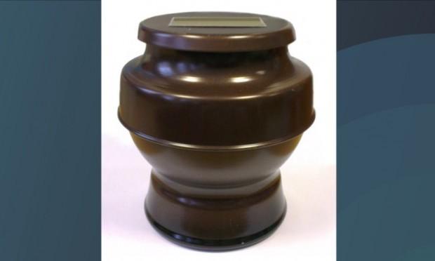 The urn was found near the railway line at Camperdown junction.