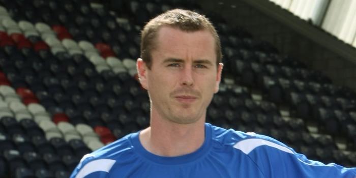 Raith Rovers player Stephen Simmons.