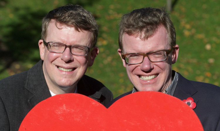 Craig and Charlie launch the 2013 Poppy Appeal.