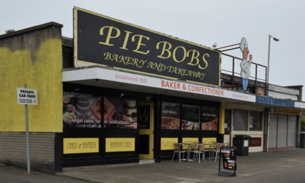 Mitchell was fined £400 after exposing himself during his dance outside Pie Bob's.