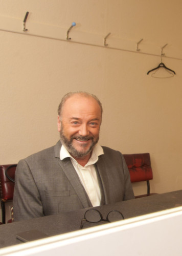 George Galloway back in Dundee.