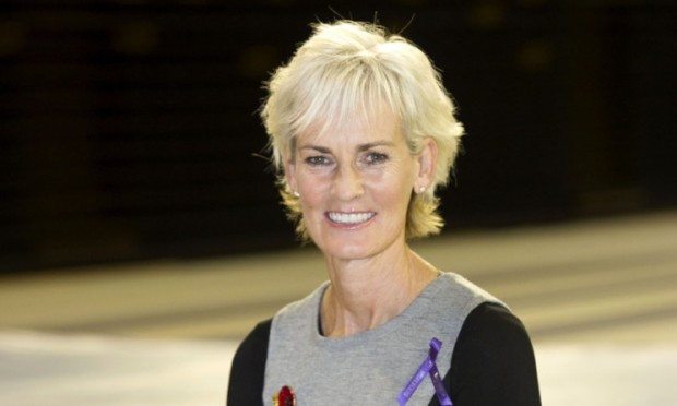 13/11/13 GLASGOW Judy Murray attends the launch of Scottish Women in Sport at the Emirates Arena