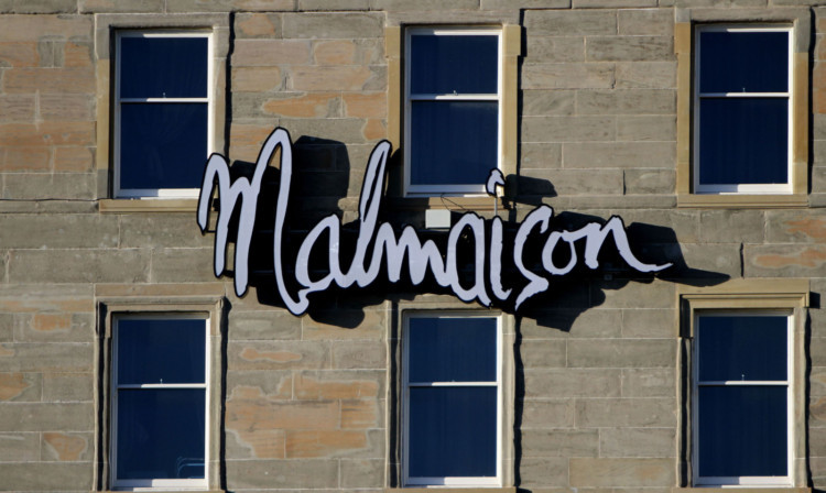 The new Malmaison hotel failed to open on the planned date.