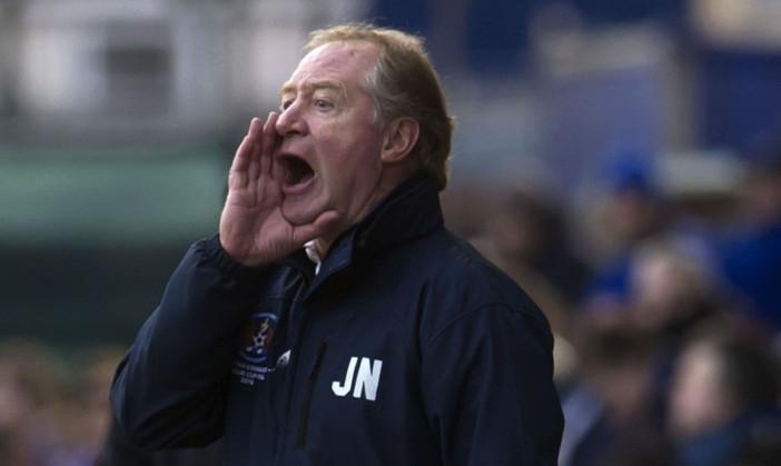 New Cowdenbeath boss, Jimmy Nicholl.