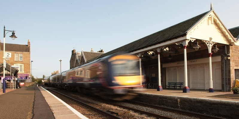 Kim Cessford, Courier 15.09.11 - pictured is the Broughty Ferry railway station which may soon be having more trains stopping