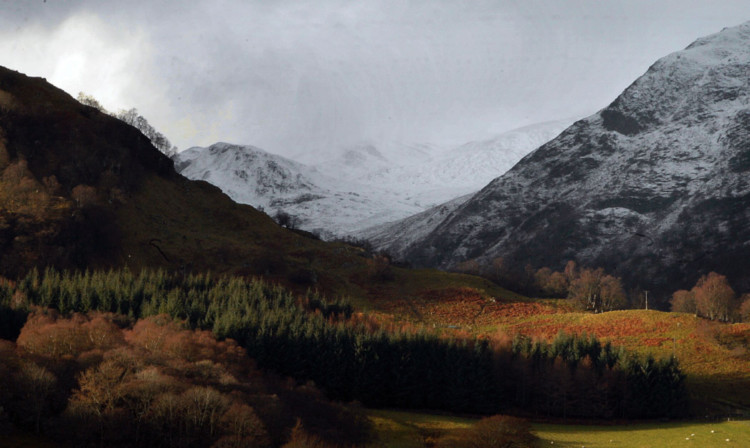 Glen Lyon provides a beautiful backdrop to an ugly row.