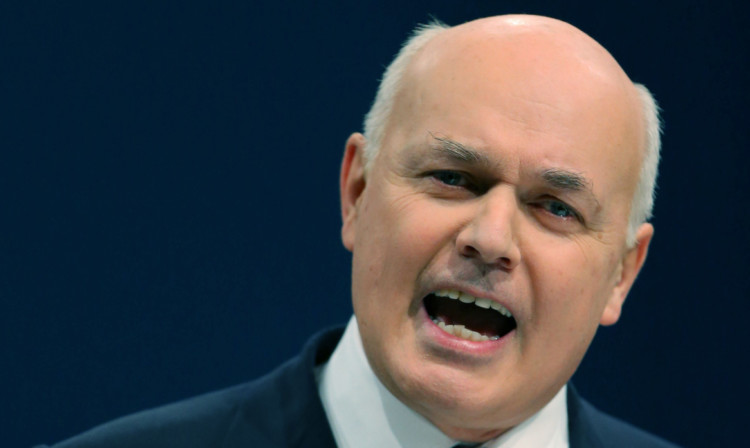 Iain Duncan Smith has criticised the 'political messaging' of the Trussell Trust.