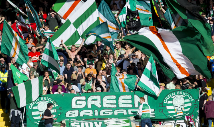 Flags and banners will be allowed at the game after talks were held earlier this week.