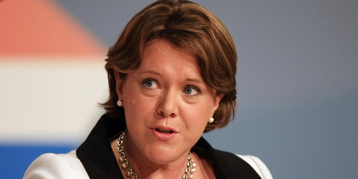 Maria Miller during the 'Reforming Welfare' session at the Conservative Party Annual Conference at the International Convention Centre, Birmingham.