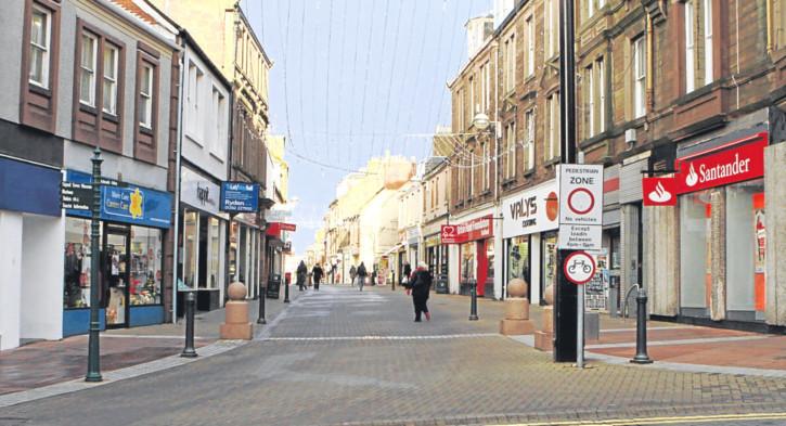 Arbroath High Street.