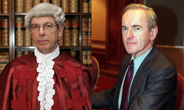 Lord Hamilton (left) and Lord Cullen have warned scrapping corroboration of evidence could increase the likelihood of miscarriages of justice.