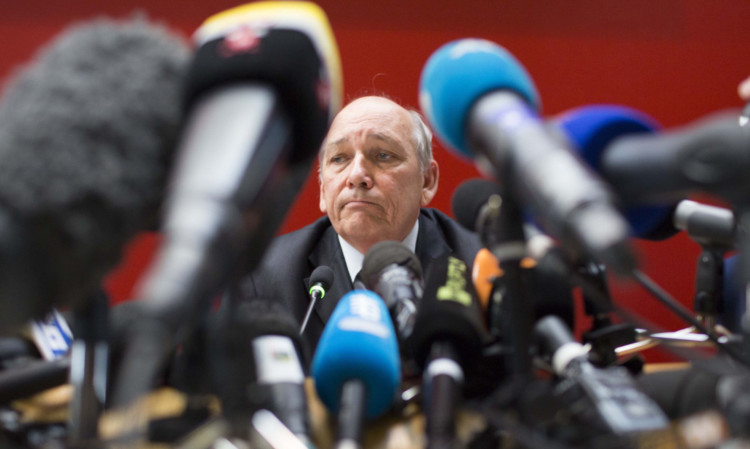 French prosecutor Patrick Quincy, who is leading the inquiry into Michael Schumacher's skiing accident.