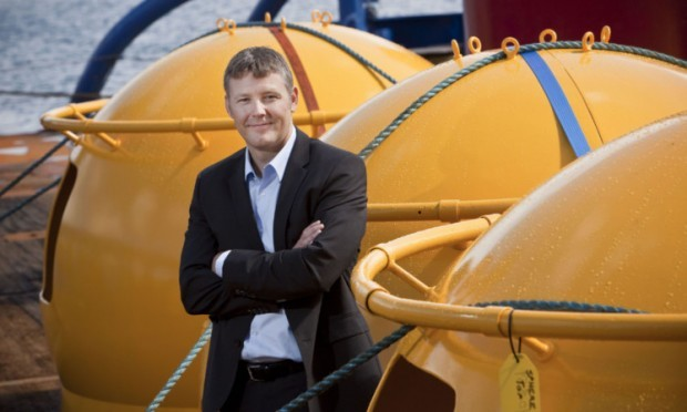 Briggs Marine MD Collieson Briggs presided over what the Burntisland firm described as a satisfactory boost to revenues and profits last year.