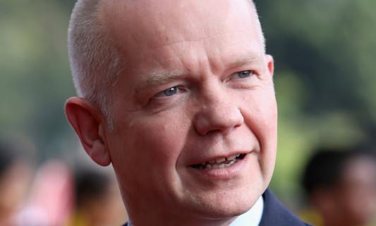 Foreign Secretary William Hague.