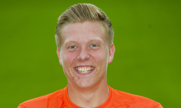 Ryan Ferguson left Dundee United by mutual consent.