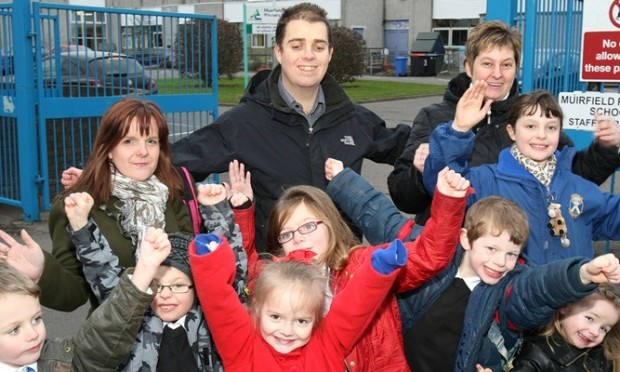 'People power' parents relieved to have saved Arbroath ...