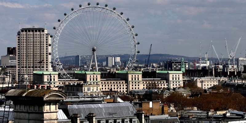 File photo dated 17/04/08 of The London Eye, where Mohammed Chowdhury, 21, and his London accomplice Shah Rahman, 28, were followed by undercover detectives on November 28, 2010, as nine men today admitted various terror charges at Woolwich Crown Court and will be sentenced next week.