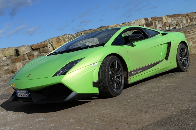 Kris Miller, Courier, 07/03/12. Picture today of Labourghini Gallardo for Jack McKeown motoring.