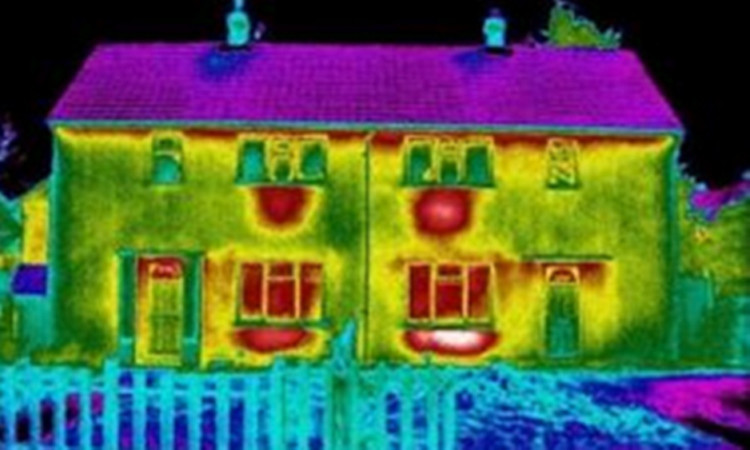 Thermal imaging can reveal parts of homes that allow heat to escape.