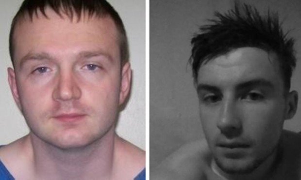 Ewan Dow (left) has been jailed for life for stabbing Daniel Turner to death.
