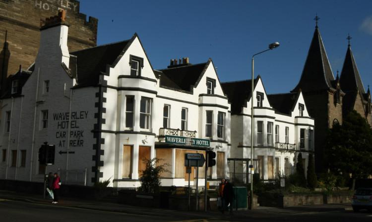 The Waverley Hotel.