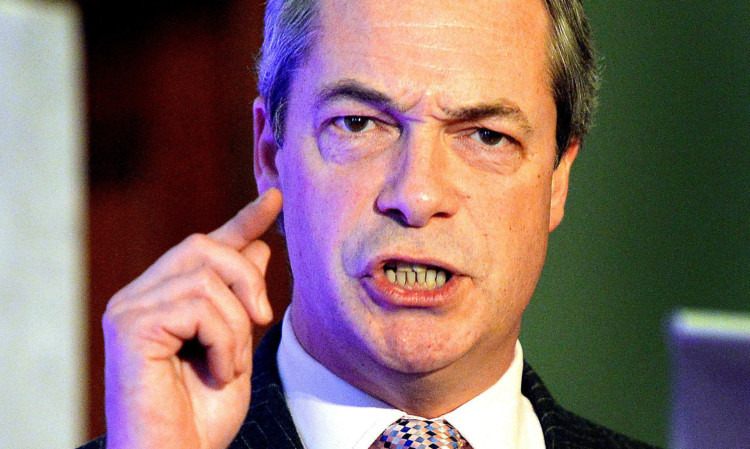 UKIP leader Nigel Farage branded the current law ludicrous and insisted it had not helped to keep gun crime down.