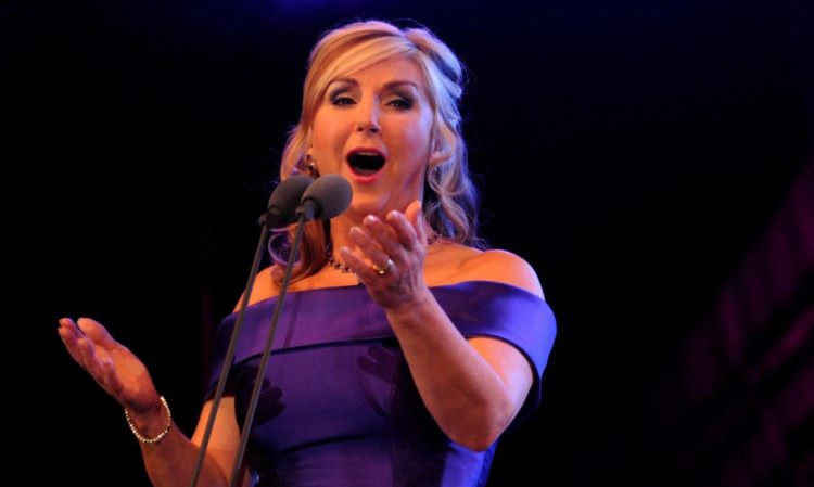 Lesley Garrett will be appearing with the Arbroath Male Voice Choir at the Webster Theatre next month.