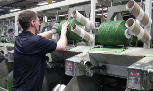 The Dundee and Abu Dhabi-based yarns division returned to the black.