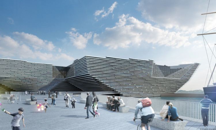 Lesley Knox says the V&A will be a big tourism draw for the whole of Tayside.