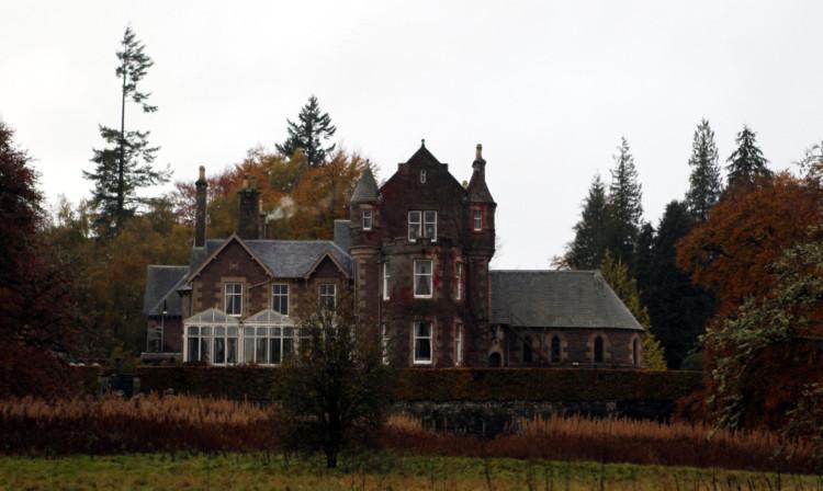 The Cromlix House Hotel near Dunblane.