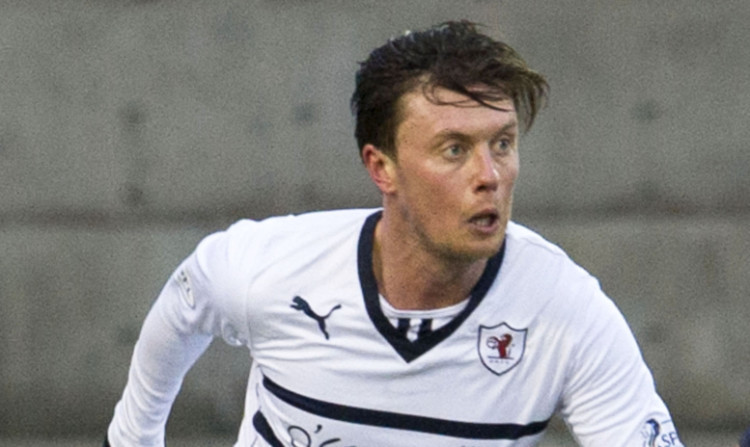 On target: Joe Cardle.