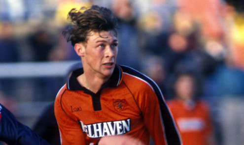 Duncan Ferguson went on to become an Everton legend after impressing as a youth at Dundee United.