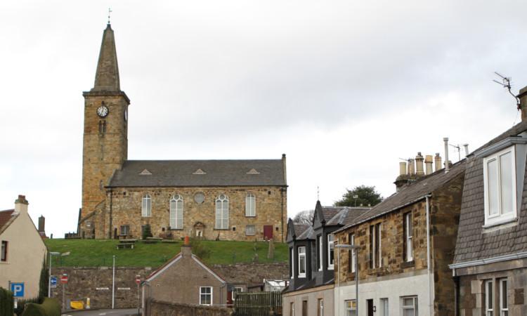 Markinch Parish Church.
