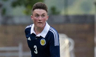 John Souttar in action for Scotland U17s.