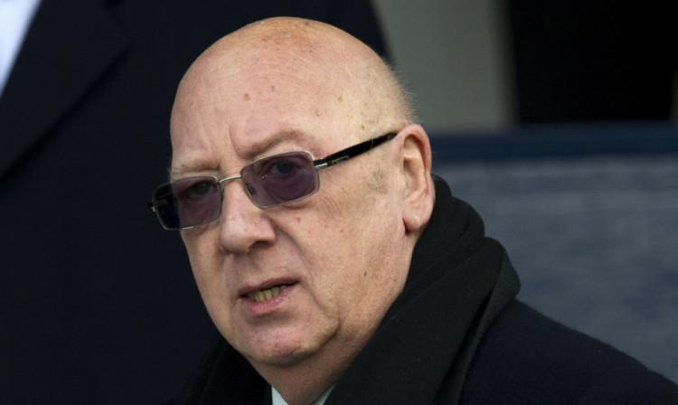 Raith Rovers Chairman Turnbull Hutton.