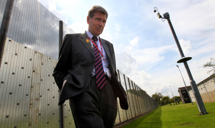 Justice Secretary Kenny MacAskill announced plans for a new womens jail in 2012.
