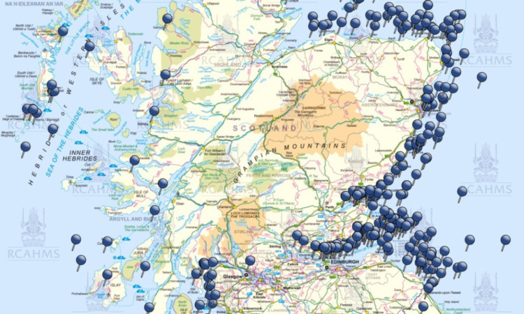 Map Of Uk East Coast.New Online Service Maps A Millennia Of Scottish Shipwrecks The Courier