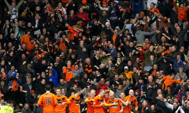 Dundee United are now on course to having over 10,000 supporters backing them on their return to Ibrox.