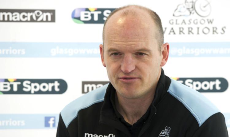 Glasgow Warriors Head Coach Gregor Townsend.
