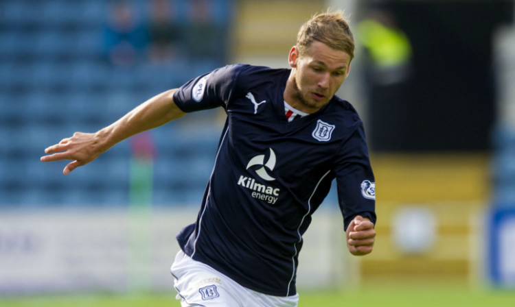 Martin Boyle scored twice for Dundee.