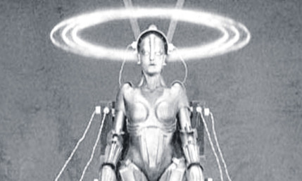 A still from the classic film, Metropolis.