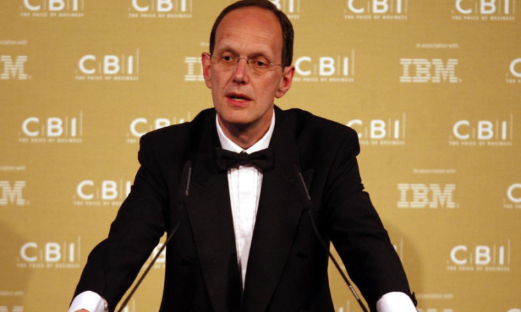 John Cridland, director-general of the CBI, which has angered some members by formally throwing its weight behind the Better Together campaign.