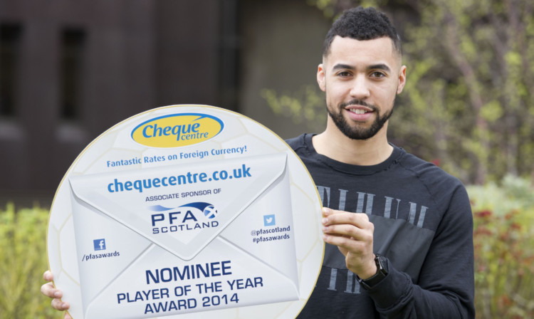 Cowden striker Kane Hemmings, a target for Dundee and now Dunfermline, has been nominated for the Championship player of the year award.