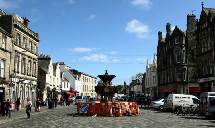 Market Street in St Andrews.
