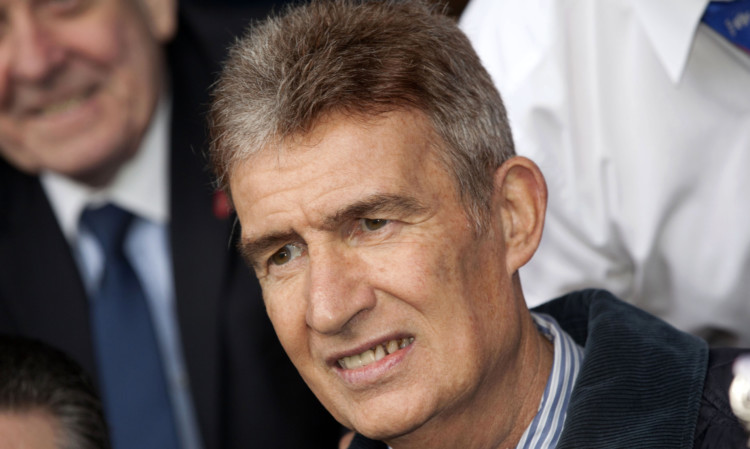 Sandy Jardine's death was announced on Thursday evening.