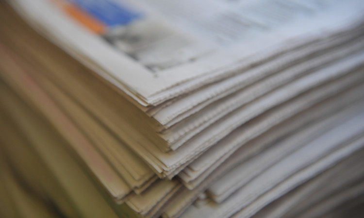 Kim Cessford - 01.05.12 - FOR FILE  - pictured are a stack of newspapers