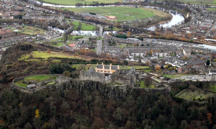 Millions is being invested to boost Stirling's economy.