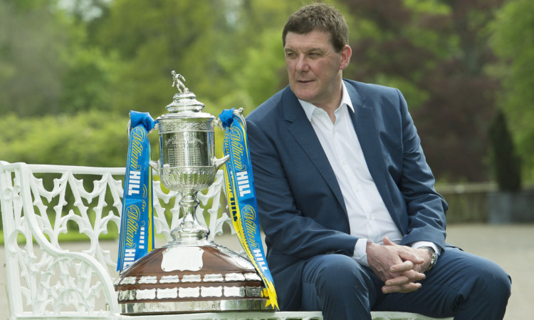Tommy Wright will have a big role to play if he and his team are to get their hands on the Scottish Cup.