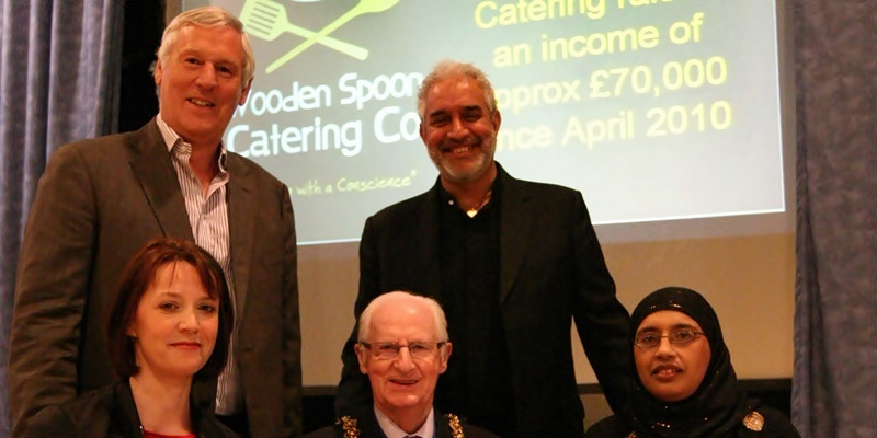 Businessmen full of praise for Wooden Spoon Catering