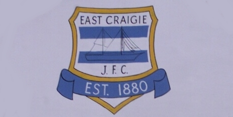 Derek Jamieson, tele sport 5/10 East Craigie. East Craigie FC received sponsorship from the Centenary Bar. Bar manager Lesley Wighton presents the cheque to East Craigie commercial manager Jim Symons.